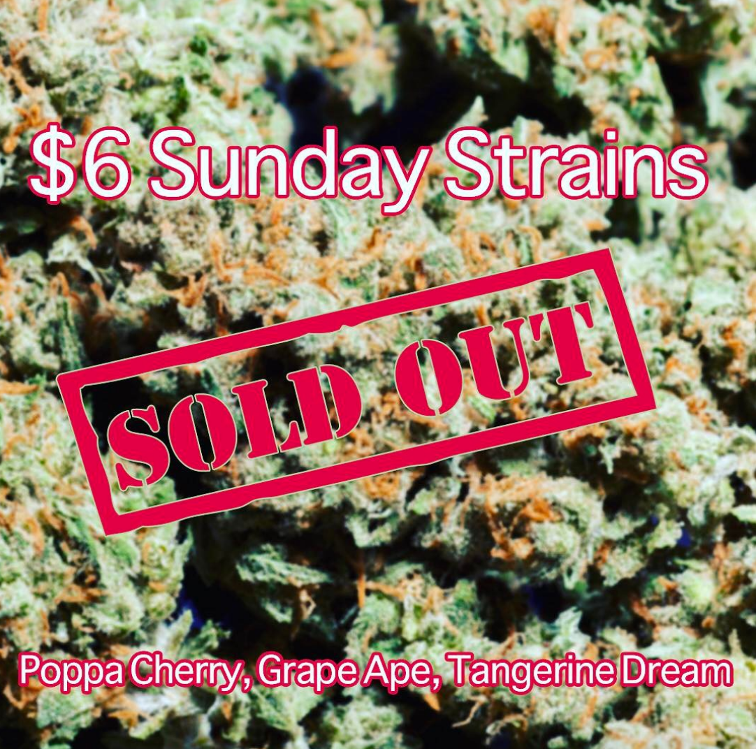 SOLD OUT strains