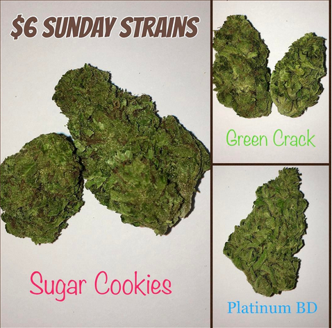 Sugar Cookies Green Crack Platinum Blue Dream | Tucson
