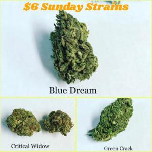 Blue Dream Critical Widow Green Crack