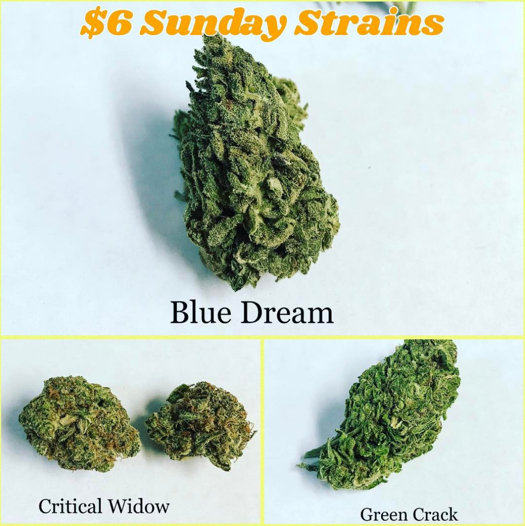 Blue Dream Critical Widow Green Crack