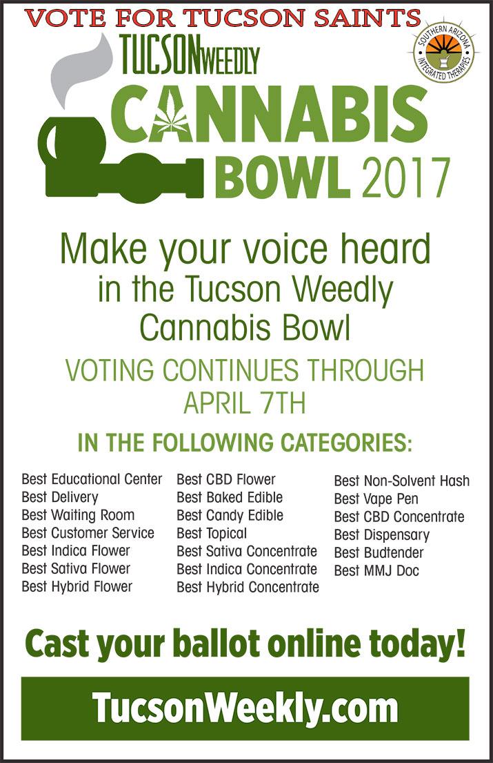 Tucson-weedly-winner-Tucson-SAINTS-VOTE-cannabis