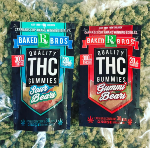Baked Bros quality THC Gummies