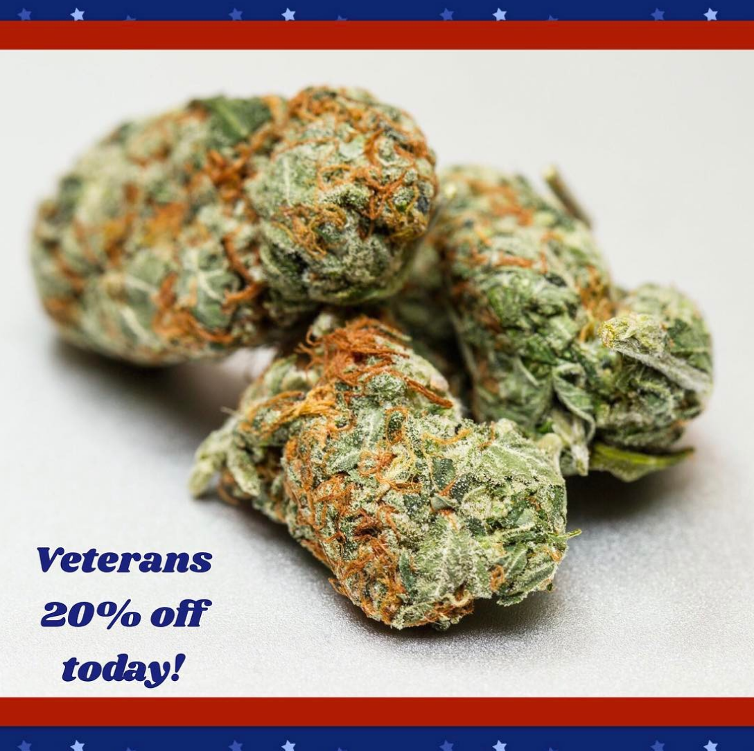 Veterans every Tuesday sale