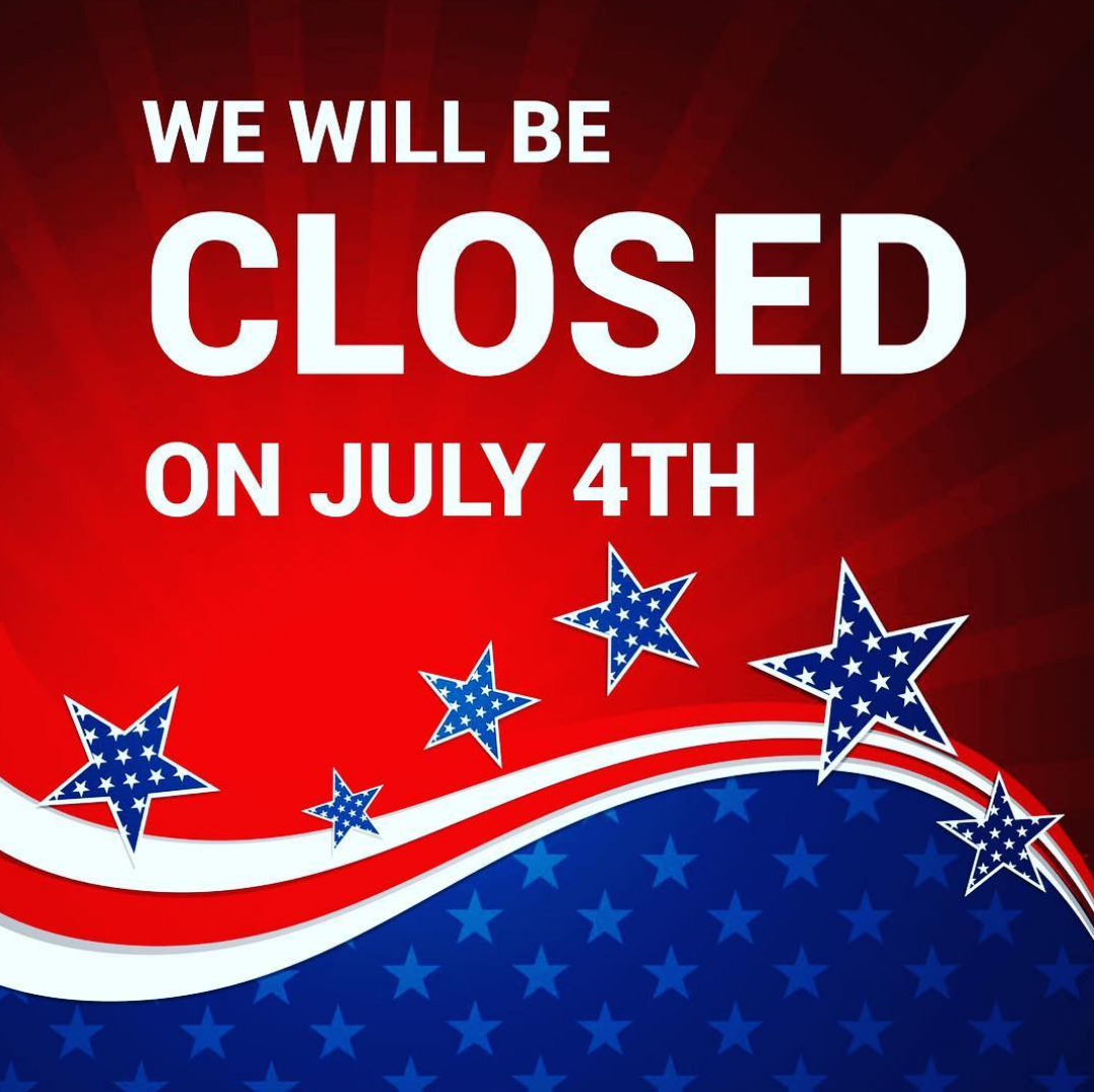 closed on July 4th SAINTS