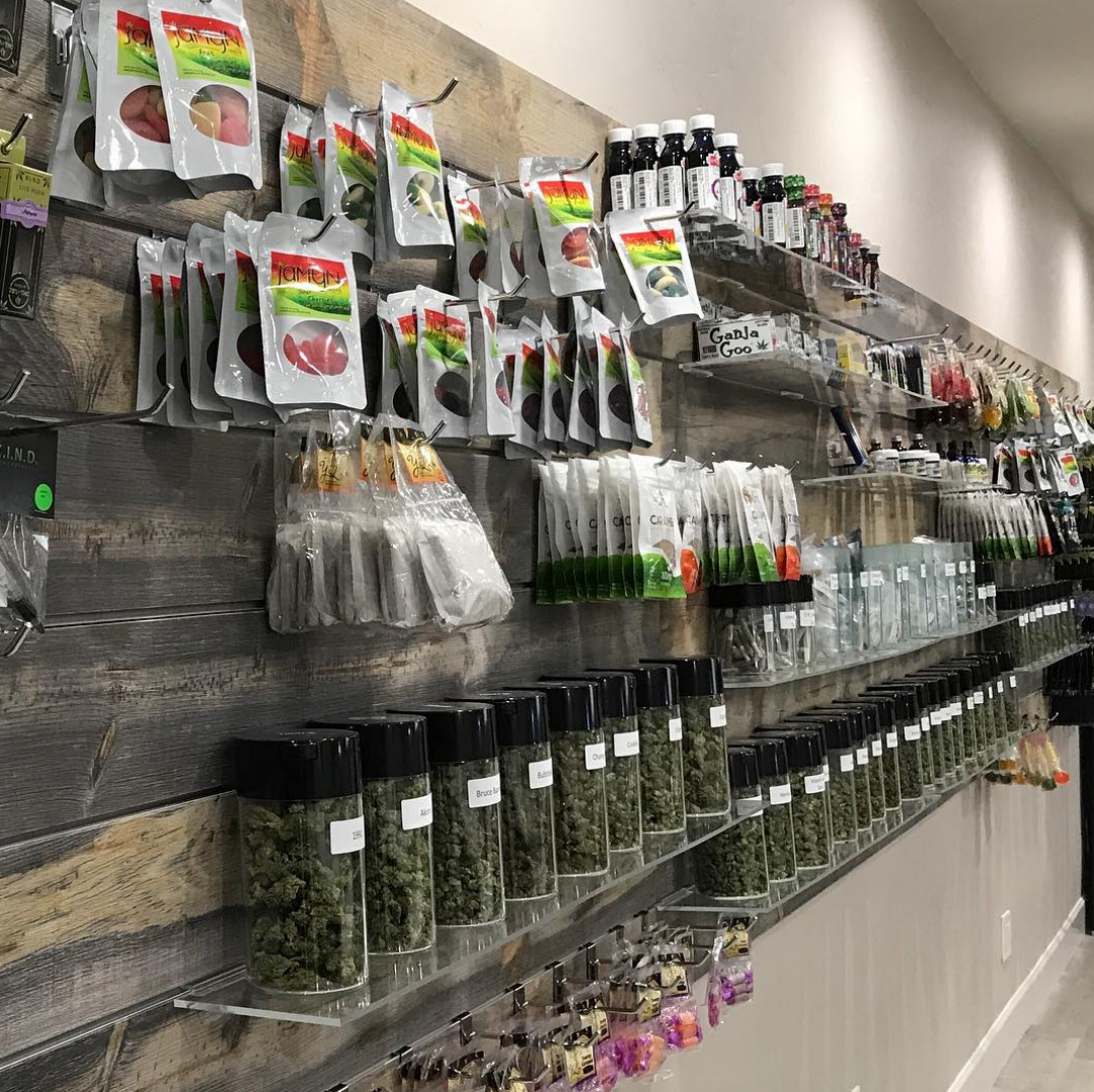CBD products in Tucson Dispensary