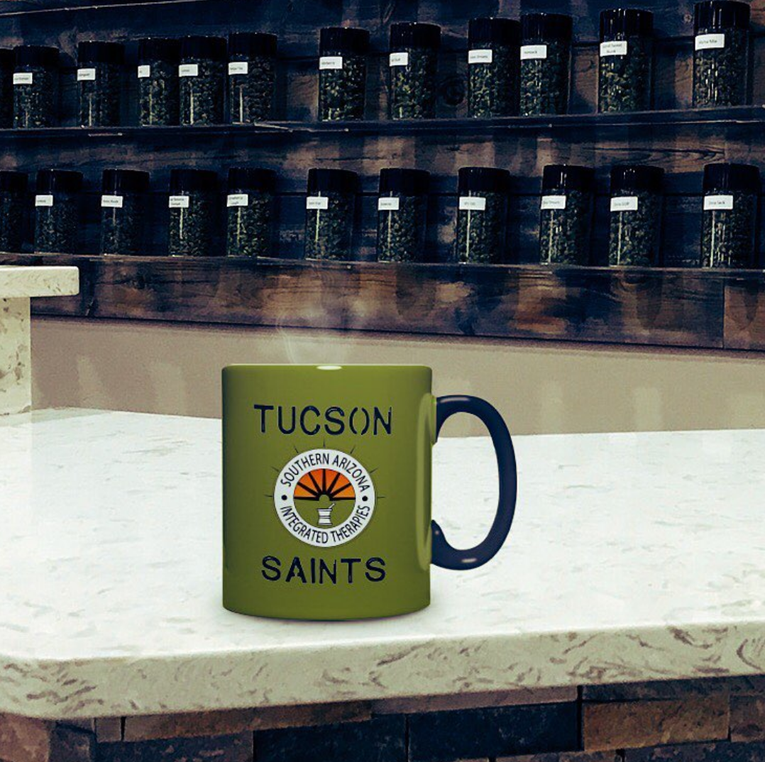 mug Tucson saints dispensary medical MMJ
