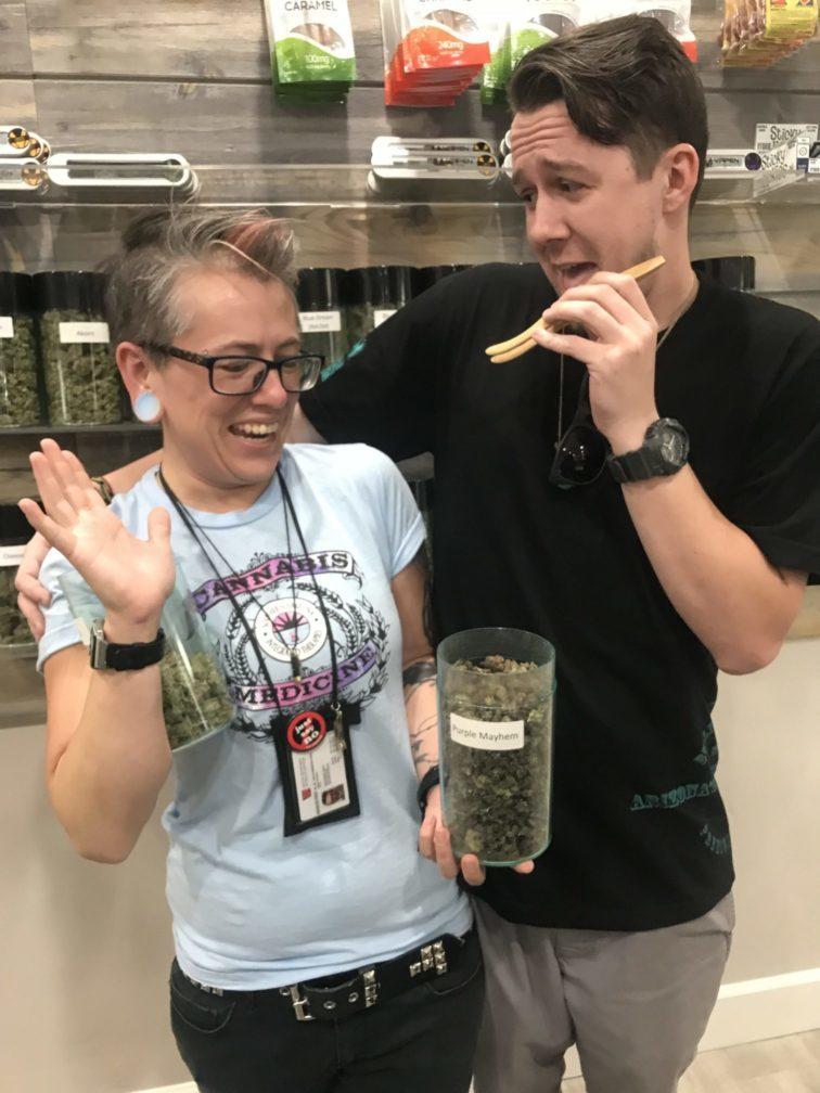 Meghann and David Budtenders Tucson Marijuana