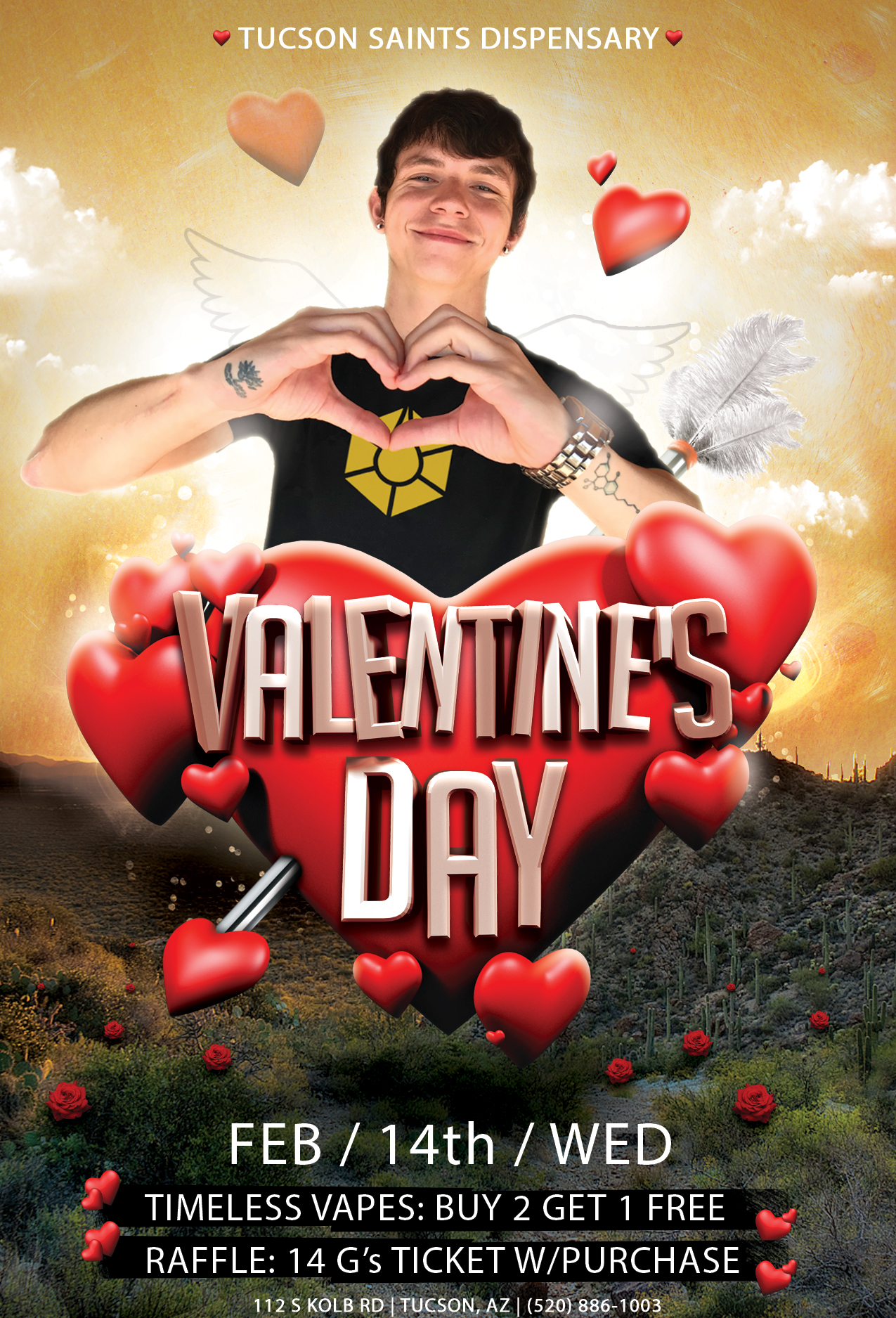 Valentines-Day-Flyer-Tucson-SAINTS-Timeless-alfonso