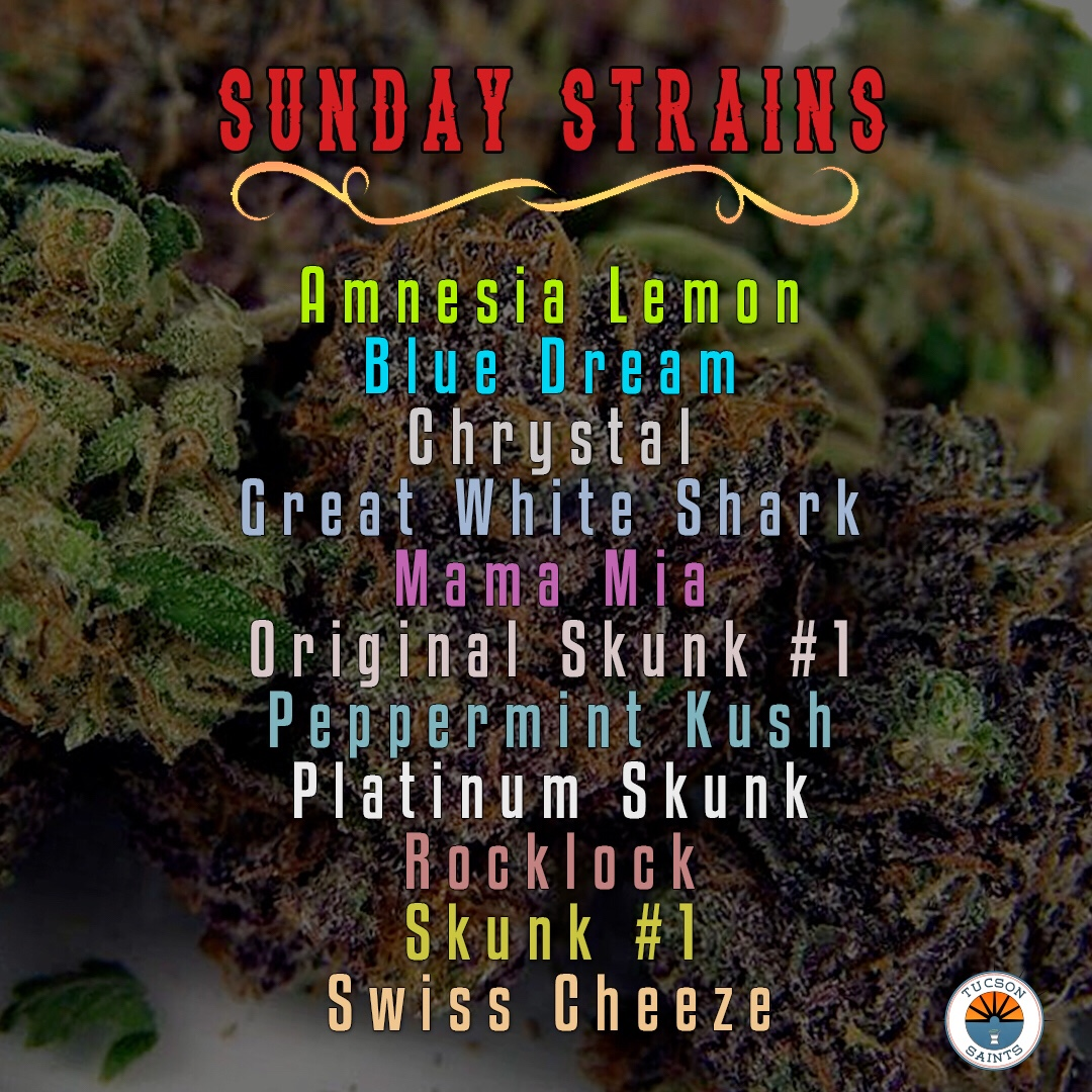Blue Dream amnesia Lemon Sunday Strains | Tucson Dispensary
