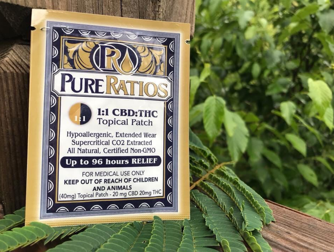 Pure Ratio Cannabis Patches