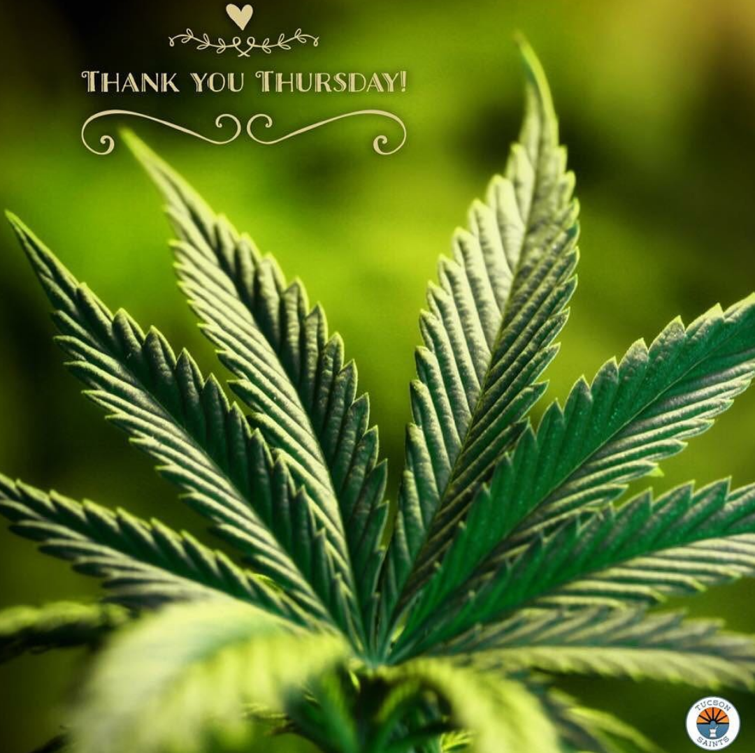 thanks from saints dispensary
