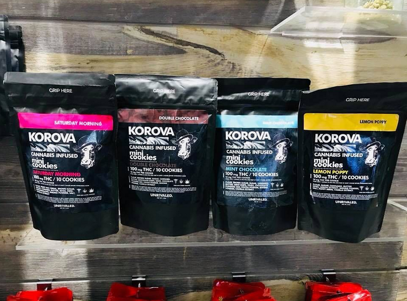 korova edibles chocolate cookies