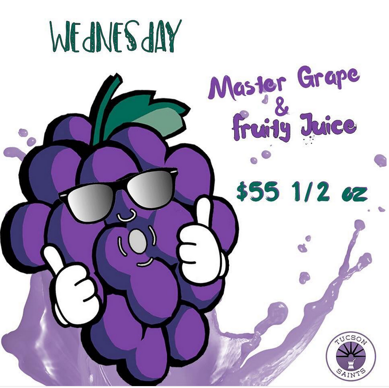master grape fruity juice strains