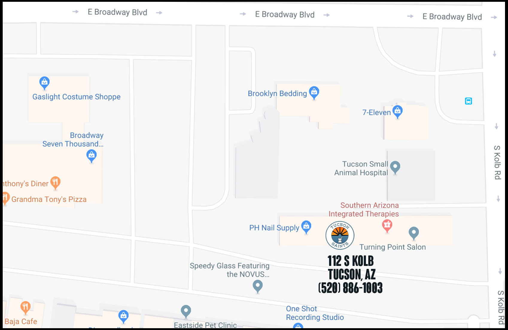tucson dispensary location