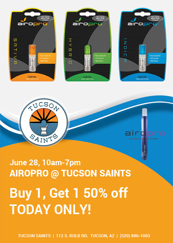 Airopro vapes dispensary in tucson