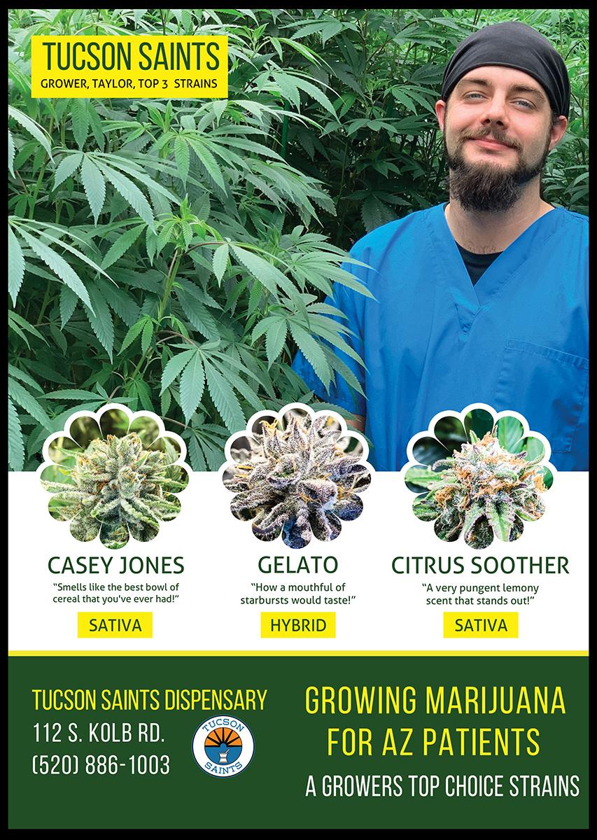 Cannabis Grower Taylor Tucson GROW