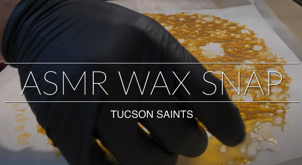ASMR Wax Snap dispensary videos