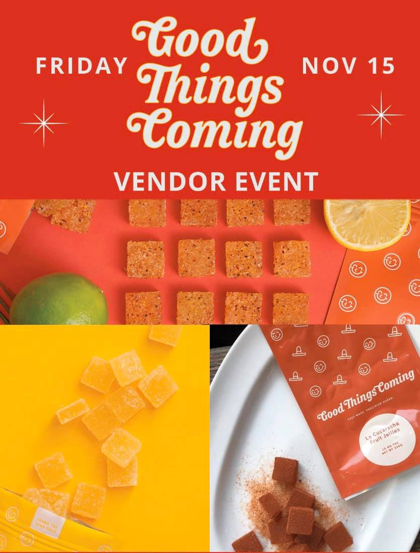 good things coming vendor event at tucson saints 2019