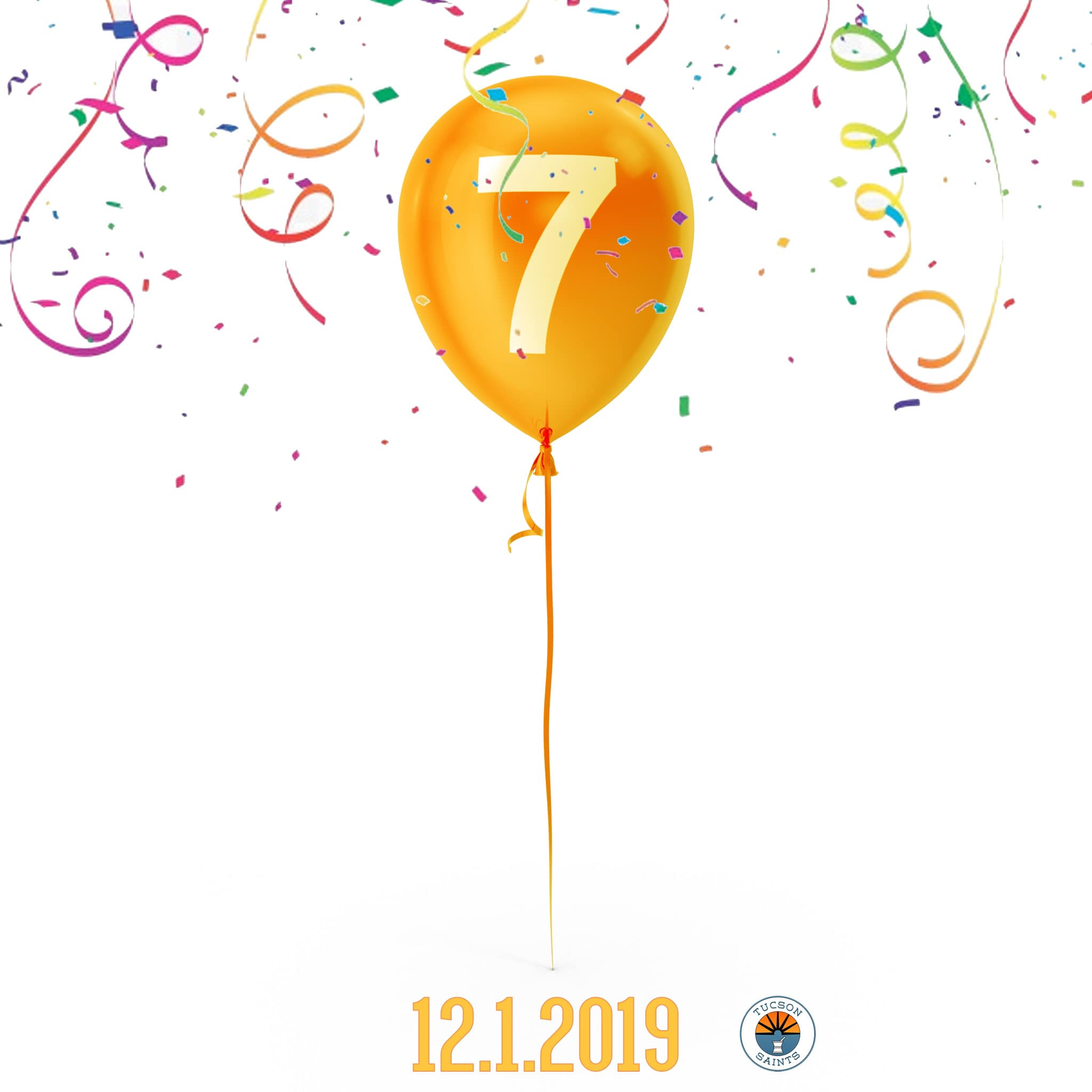 7 year dispensary anniversary tucson saints 2019