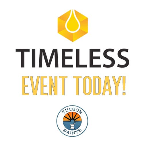 timless vapes event saints anniversary