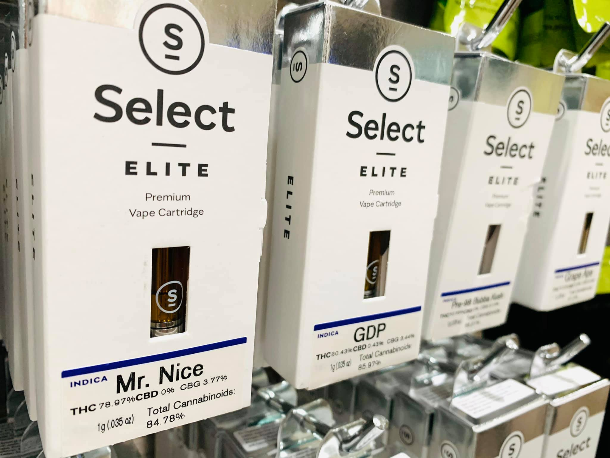 select cartridges premium vape