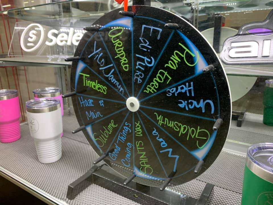 spin the wheel at tucson saints and win