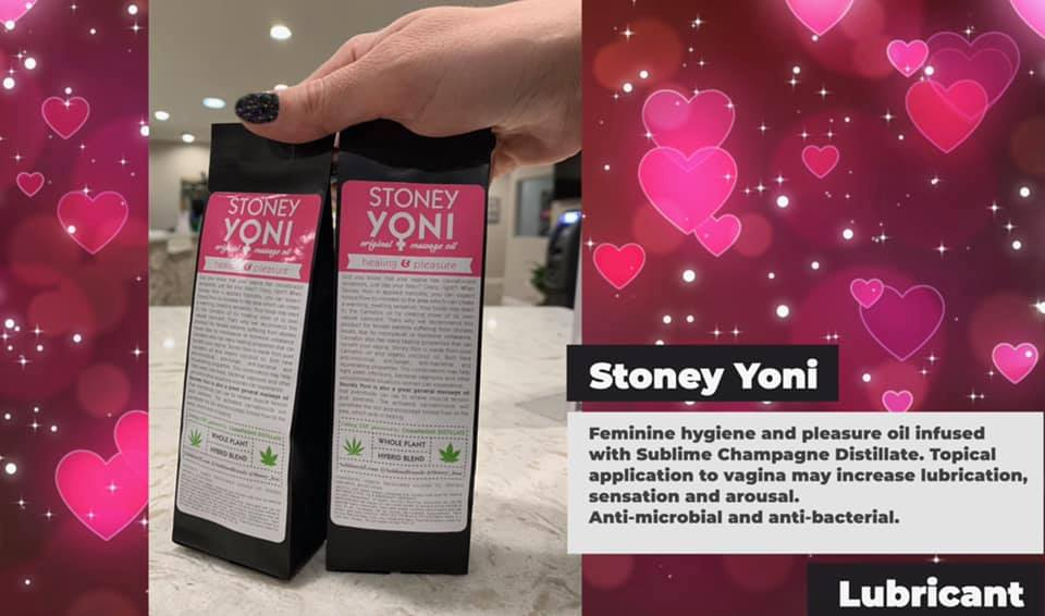 stoney yoni valentines lubricant for sex