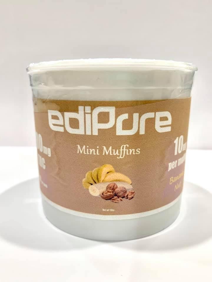 edipure mini muffins edibles