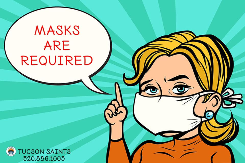 masks required in our dispensary