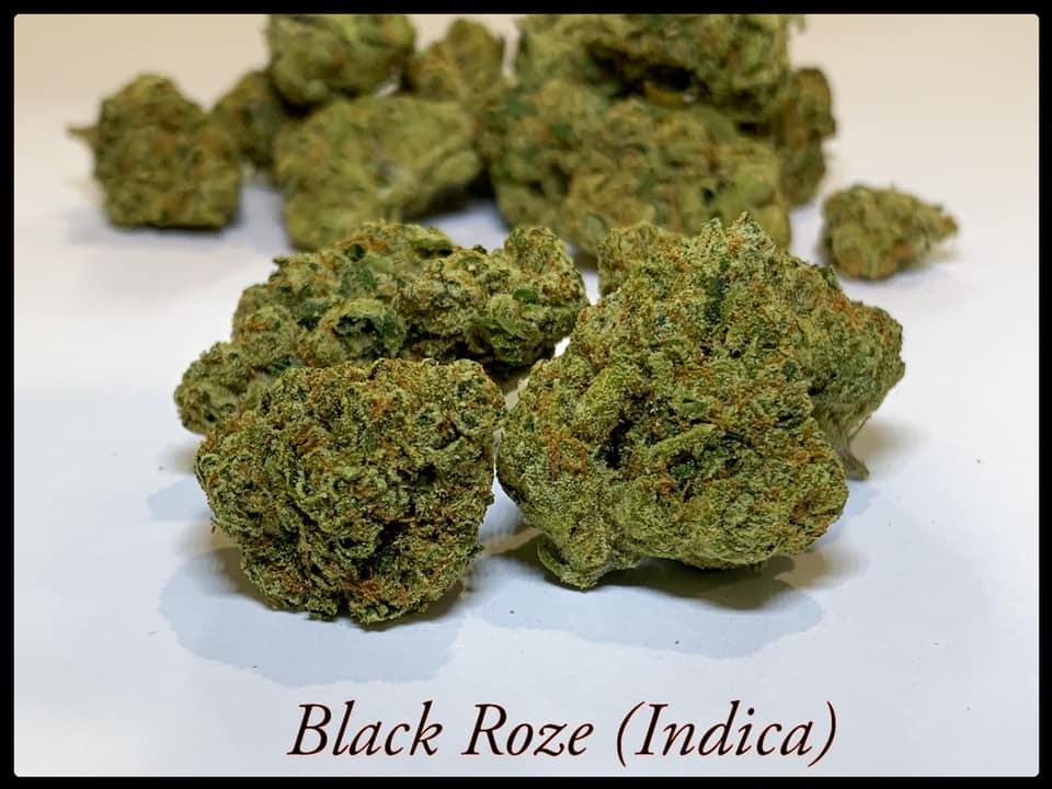 black ROZE strain indica Tucson SAINTS