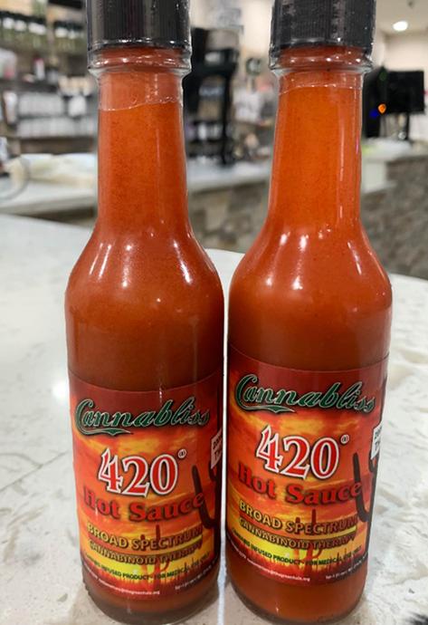 cannabliss 420 hot sauce
