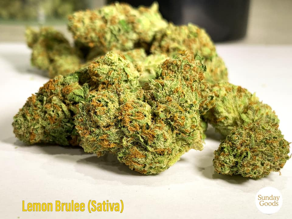 lemon brulee strain cannabis