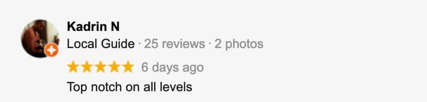 google facebook review about tucson saints dispensary