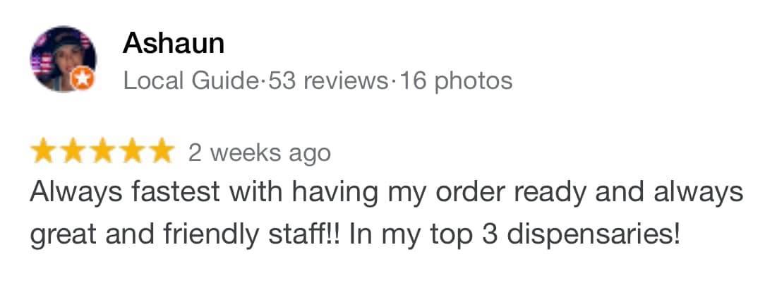 dispensary staff reviewed saints az