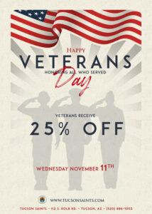 Veterans Day Flyer 2020 saints-web