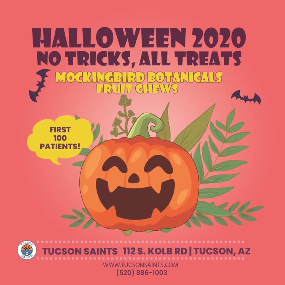 Halloween SAINTS 2020 first 100 patients