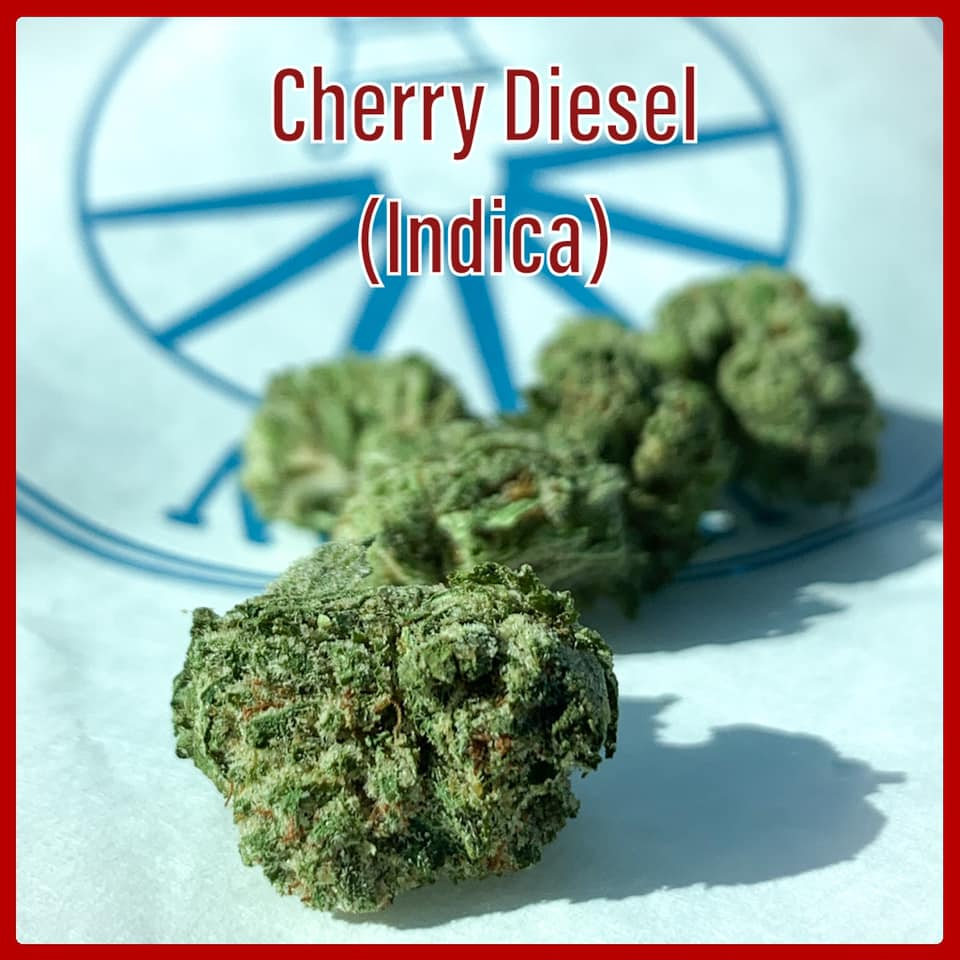 cherry diesel indica strain tucson saints dispensary