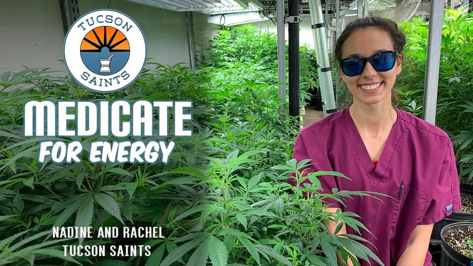 medicate for energy sativa cannabis saints