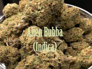 Alien Bubba Indica Strain