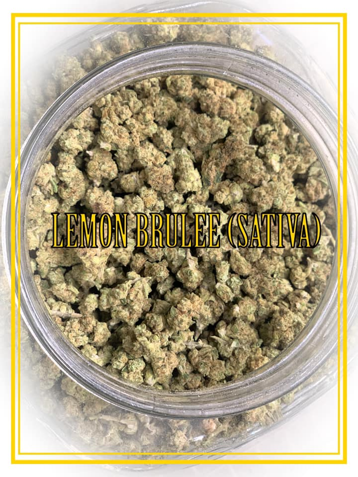 lemon brulee sativa strain