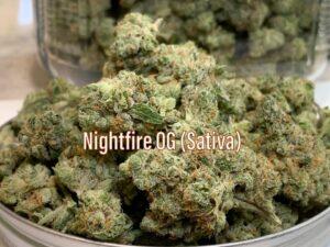 nightfire OG Sativa Strain