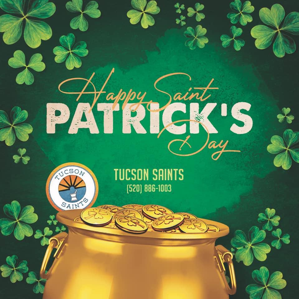 Happy St. Patrick's Day from SAINTS Dispensary