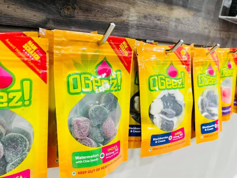 OGEEZ edibles at Tucson SAINTS Dispensary