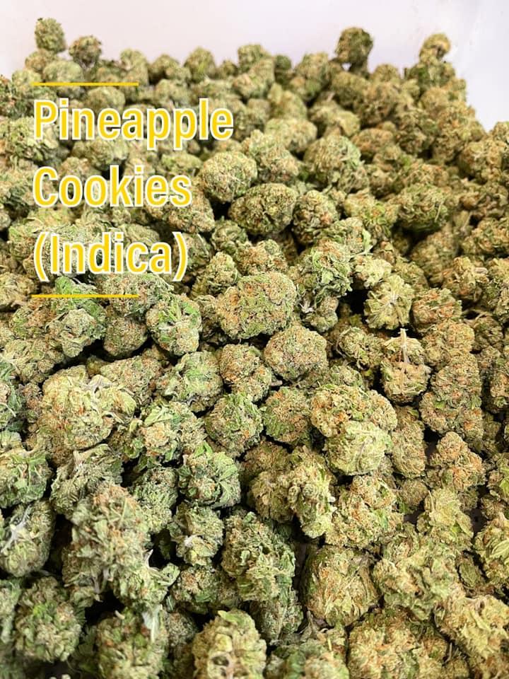 pineapple cookies indica strain