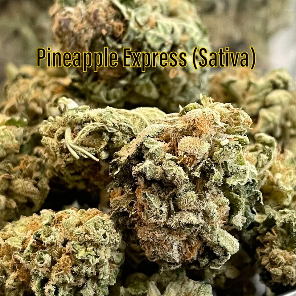 pineapple express grown by saints dispensary