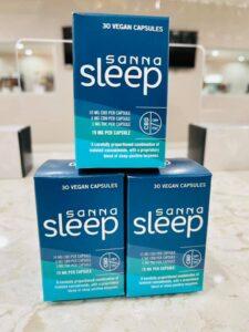 sanna sleep THC insomnia edible for a good nights rest