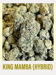 King Mamba Hybrid Strain