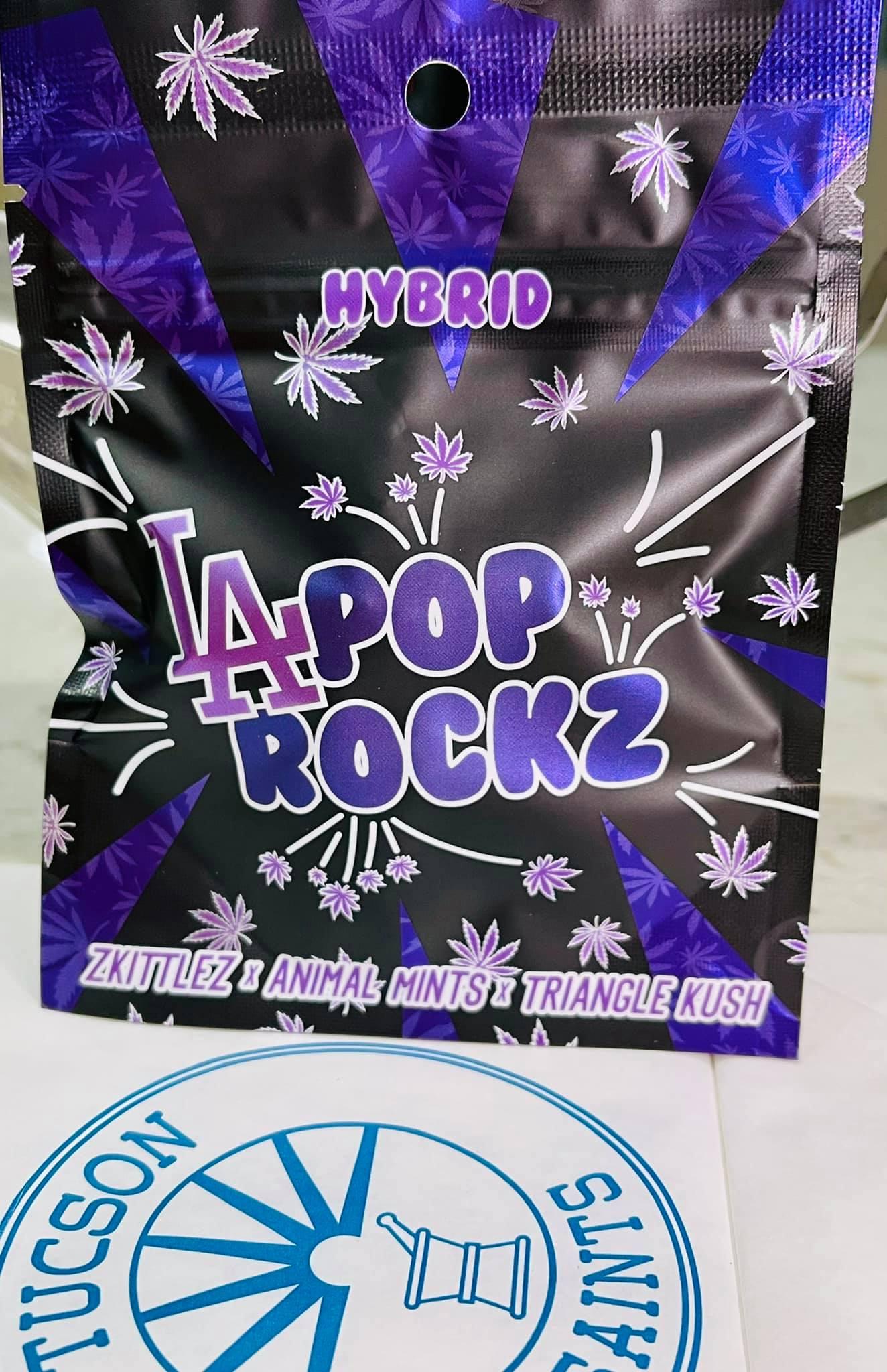 LA POP ROCKZ hybrid zkittlez animal Mints Triangle Kush