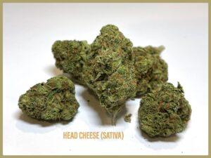 head cheese sativa strain at Arizona saints