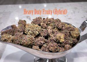 heavy duty fruity hybrid strain
